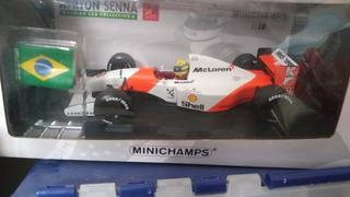 Miniatura Mclaren Senna Gp Brazil 1/18 Minichamps