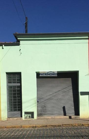 Salão À Venda, 370 M² Por R$ 600.000 - Centro - Atibaia/sp - Sl0009