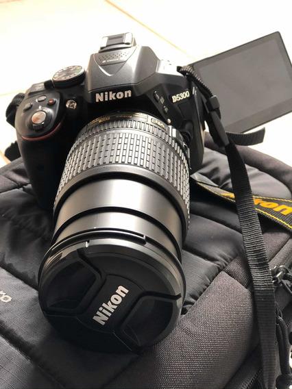 Câmera Nikon D5300 + Lente Nikon 18-105mm