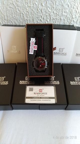 Relógio Masculino Naviforce Modelo 9095 Na Caixa Original