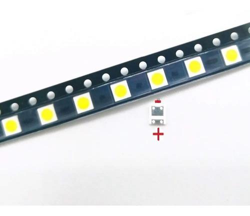 Imagen 1 de 2 de Pack 100 Led 6v 2w 3535  Para Tira De Backlight Led Tv LG Af