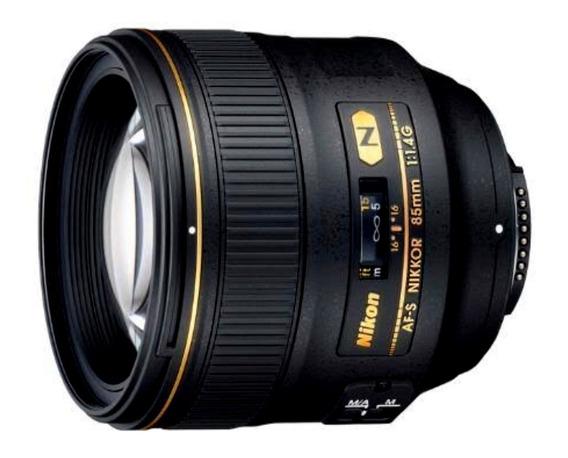 Lente Nikon 85mm 1.4g