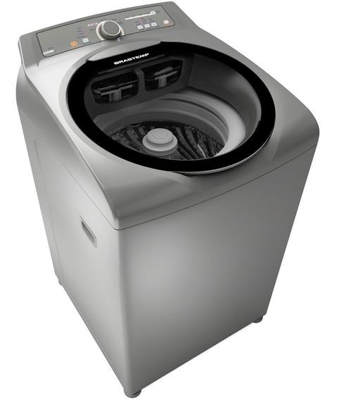 Máquina De Lavar Brastemp 11kg Cor Inox Bwg11ar
