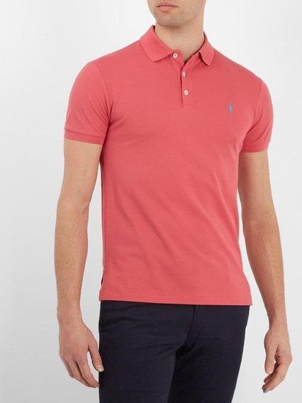 Camiseta Polo Ralph Lauren 3xl Tallas Grandes Big Tall Coral