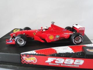 F1 - Michael Schumacher - Acidente 1999 Ferrari F399 - 1:43