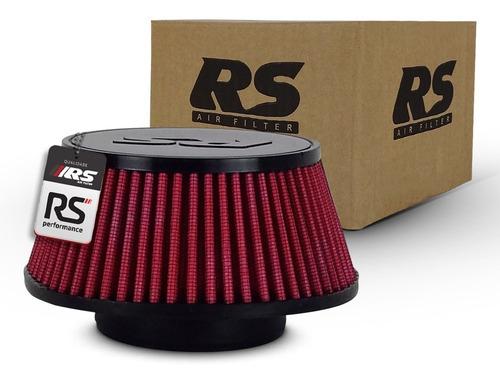 Filtro Esportivo Para Turbina Rsc7560 Vermelho Poliéster