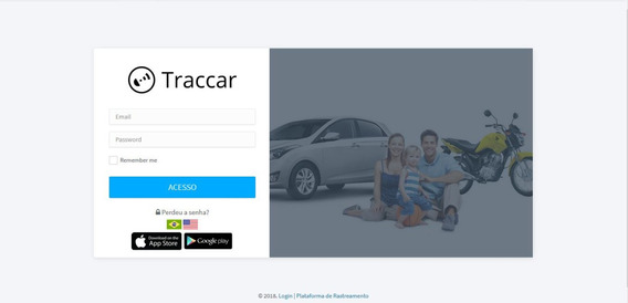 Central Rastreamento Veicular Business Para Traccar