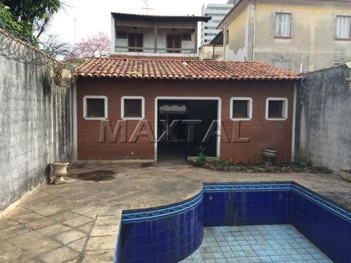 Imagem 1 de 15 de Amplo Imóvel No  Casa Verde Com Piscina - Mi84799