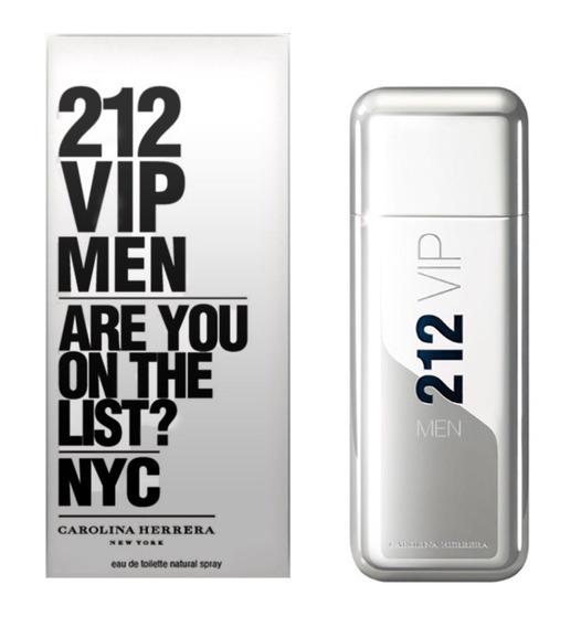 Perfume Carolina Herrera. 212 Vip Men Original