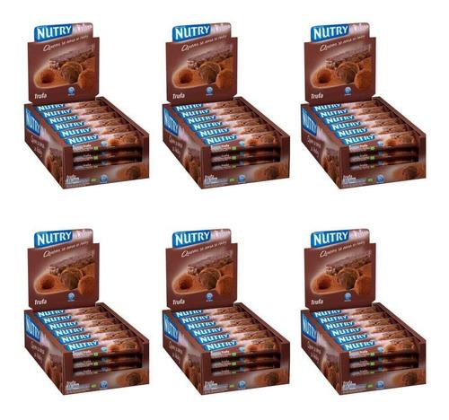 Nutry Barra De Cereal Trufa C/24 (kit C/06)