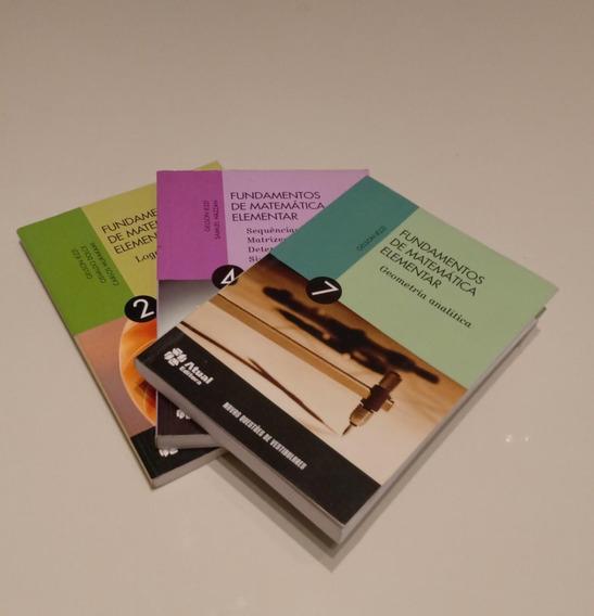 Fundamentos De Matemática Elementar 3 Volumes Gelson Iezzi