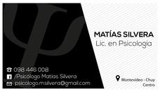 Psicólogo. Cordón - Montevideo. Consulta Presencial Y Online