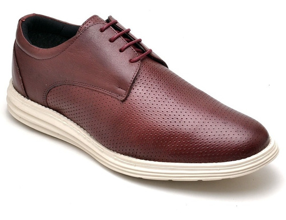 Sapato Masculino Em Couro Legítimo Castro