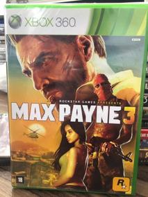 Jogo Max Payne 3 Xbox 360 Novo - Lacrado - Mídia Física -