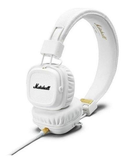 Fone De Ouvido Headphone Marshall Ii Branco Original Lacrado