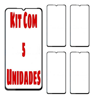 Kit 5 Películas Mi 9se Full Cover Vidro 3d Tela Toda Atacado