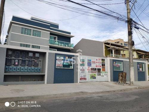 Apartamento Com 2 Dormitórios À Venda, 65 M² Por R$ 257.000,00 - Jardim Mariléa - Rio Das Ostras/rj - Ap0305