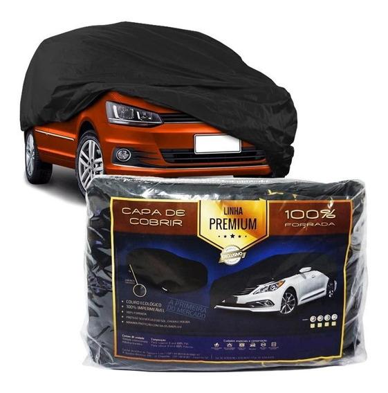 Capa De Couro Forrada Cobrir Carro Automotiva Protetora G