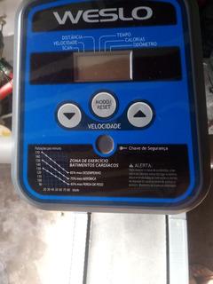 Esteira Elétrica Weslo Cadence 4500 Dobrável