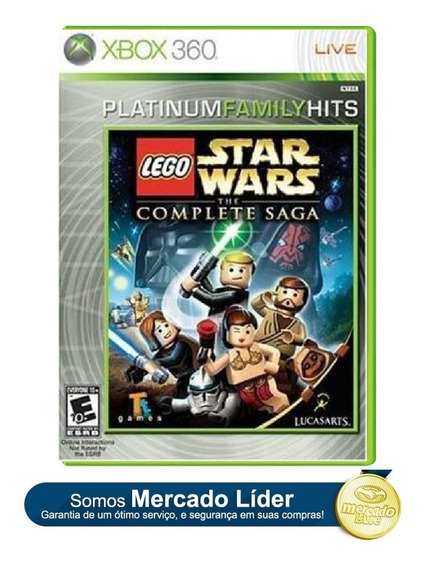 Lego Star Wars The Complete Saga Original Para Xbox 360