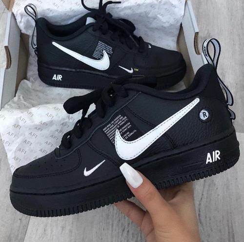Cabecear Manhattan Escuchando  Zapatillas Nike Air Force One Lvl8 - Hombre Y Dama - 2019 | Mercado Libre