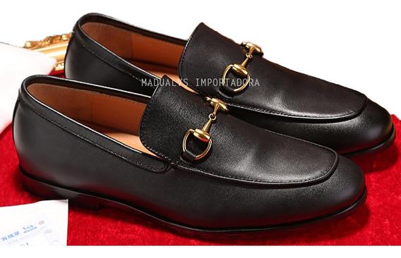 Sapato Masculino Gucci Tradicional - Frete Grátis - Desc