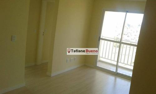 Imagem 1 de 9 de Apartamento Com 2 Dormitórios À Venda, 60 M² Por R$ 236.900,00 - Parque Residencial Flamboyant - São José Dos Campos/sp - Ap2374