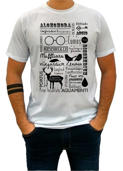 Camiseta Camisa Infantil Feminina Harry Potter Simbolos 248
