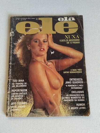 Revista Xuxa Ele Ela Completa Número 146 Antiga