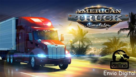 American Truck Simulator Jogue Online Original Key Steam