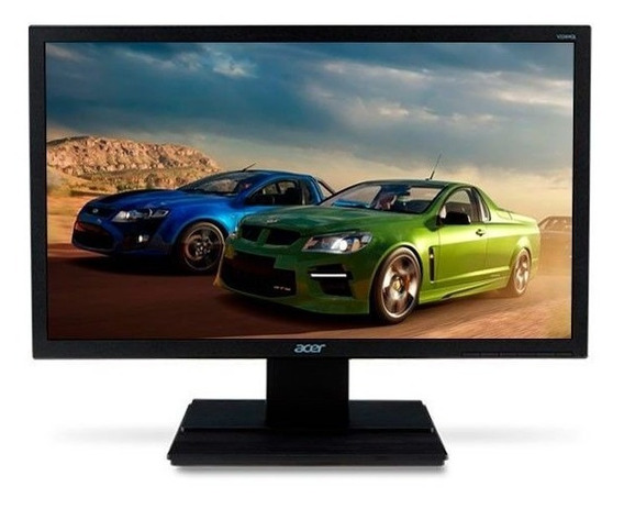 Monitor Acer 22 Full Hd Hdmi - Dvi - Vga Nfe 1 Ano Garantia!