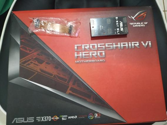 Placa Mãe Asus Rog Crosshair Vi Hero X370