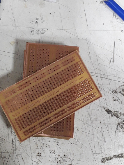 Placa Multiproposito Miniprotoboard (10 Unidades)