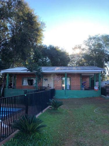 Chácara Com 4 Dormitórios À Venda, 5569 M² Por R$ 950.000,00 - Arroio Dourado - Foz Do Iguaçu/pr - Ch0021