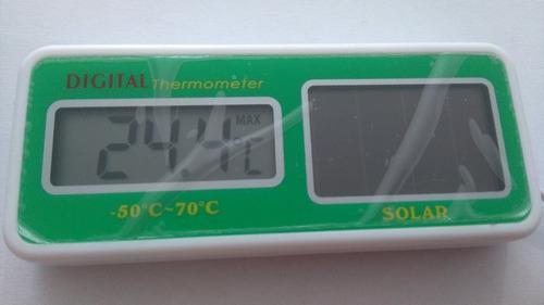 Termómetro Nevera  Lectura Digital (solar)
