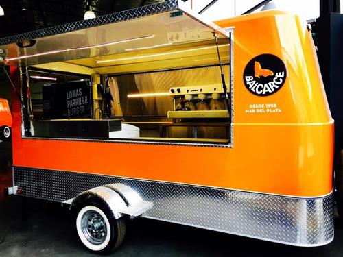 Foodtruck Monterrey 100 L Full Con Freno Completo