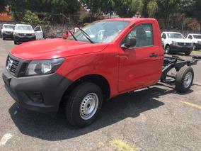 Nissan Chasis Rojo Enganche Minimo Mensualidad $6,149