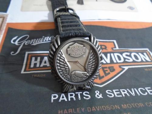 Harley Davidson Antigo Bulova Águia Americana Suiço Raro