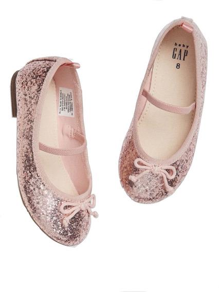 Chatitas Gap Nenas Ballerinas Rosa Brillante T 22