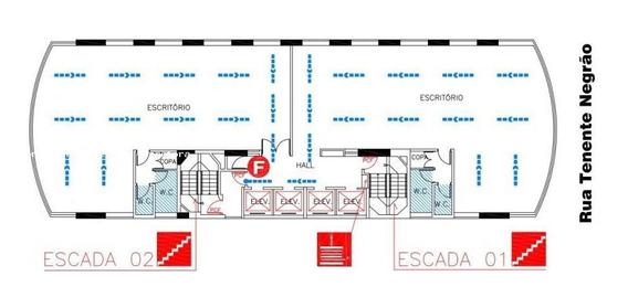 Sala Comercial Para Locação Em São Paulo, Itaim Bibi, 4 Banheiros, 5 Vagas - 2356