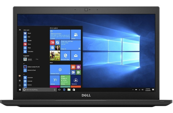 Notebook Dell Latitude 7480 Preto I7 16gb Ssd 512gb