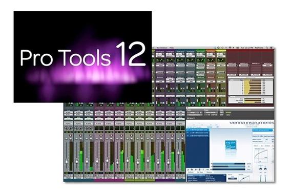 Pro Tools Hd 12 + Pacote Waves + Melodyne - Envio Imediato