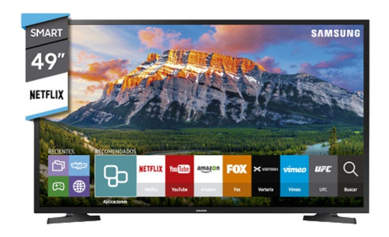 Smart Tv Led Samsung 49 J5290 Full Hd Navegador Wi Fi Pcm