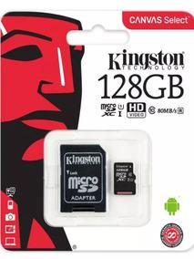 Cartão De Memória Micro Sd Kingston Sdcs 128gb Msdxc-i Class