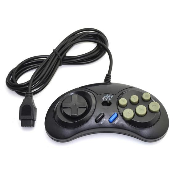 2x Controles Mega Drive