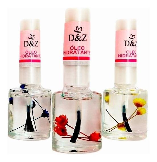 3x Oleo Hidratante De Cuticula Para Unhas Manicures