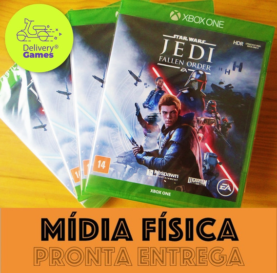 Star Wars Jedi Fallen Order Xbox One Midia Fisica Lacrado