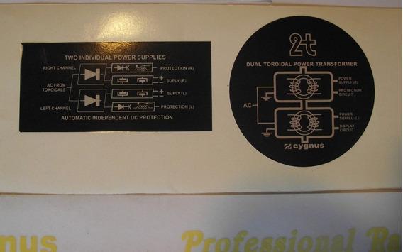Amplificador Cygnus Pa 1800 X Ou D