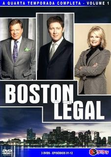 Boston Legal - As 5 Temporadas