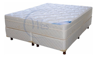 Colchón Y Sommier 2x2 King Side Conford Top, Hidnos, Wes C